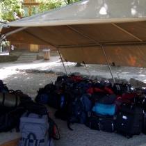 Táborban